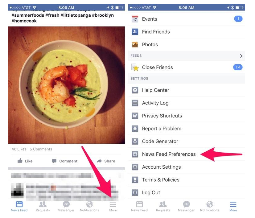How to set who you  See First  in your Facebook feed   CNET