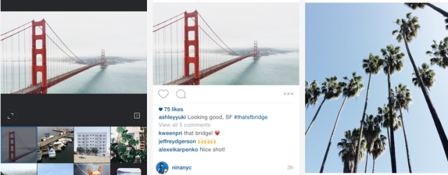 instagram no longer square